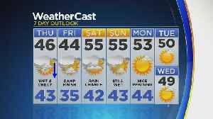 News video: Temps Back In The 40s Thursday