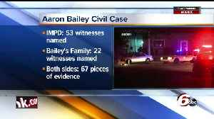 News video: More than 60 witnesses named, evidence filed in civil lawsuit over fatal shooting of Aaron Bailey