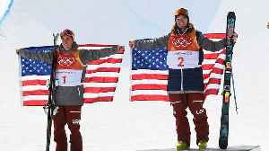 News video: USA's David Wise Repeats as Gold Medalist in Men's Ski Halfpipe