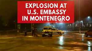 News video: Attacker kills himself after throwing grenade into US embassy compound in Montenegro