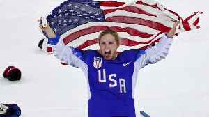 News video: U.S. women's team claims ice hockey gold at Olympics