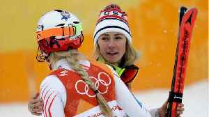 News video: Lindsey Vonn Misses Gate, Mikaela Shiffrin Wins Silver