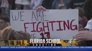 News video: School Shooting Survivors Confront Lawmakers On Gun Control
