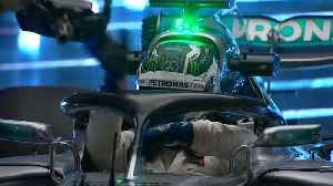 News video: Mercedes F1 boss would cut Halo protective device off with a chainsaw