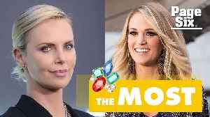 News video: Carrie Underwood on her $31 million necklace: 'This is worth more than me'
