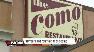News video: Celebrating 90 years at the Como Restaurant