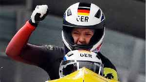 News video: Germany's Jamanka Stuns The World And Gets Gold In Bobsled