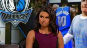News video: Joy Taylor reacts to Mark Cuban and the Dallas Mavericks misconduct scandal