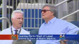 News video: Hearing Marks Start Of Marlins Lawsuit Legal Drama