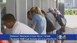 News video: Broncos Transition To Mobile Ticketing System