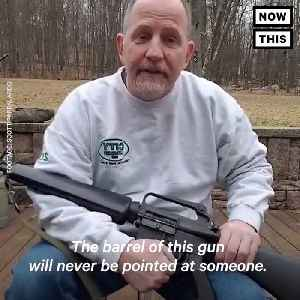 News video: This Proud Gun Owner Destroyed His AR-15 to Prove a Point About Gun Reform