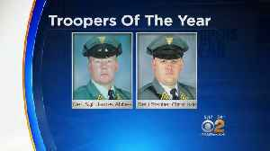 News video: Troopers Of The Year Honored In NJ