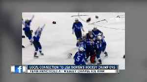 Gold medal winning USA women's hockey team could be honored in Tampa Bay