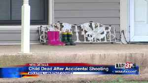 News video: CHILD DIES IN ACCIDENTAL SHOOTING AT MOULTON HOME