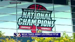 News video: Louisville Striped of National Title