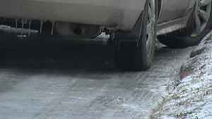 News video: Road Crews Ice Removal