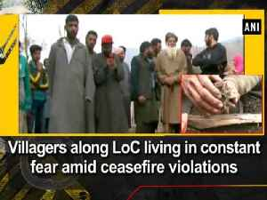 News video: Villagers along LoC living in constant fear amid ceasefire violations