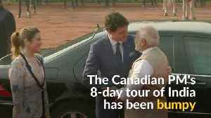 News video: After six days, Trudeau gets Modi's signature bear-hug