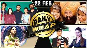 News video: Akshay's Kesari Look, Kedarnath Shoot Resumes, Sonam vs Deepika, Salman Jacqueline | Daily Wrap