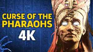 News video: 30 Minutes of 4K Assassin's Creed: Origins - The Curse of the Pharaohs DLC Gameplay