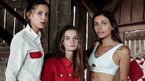 News video: Millie Bobby Brown & Paris Jackson Fill the Kardashian Jenner Sisters' Shoes in New Calvin Klein Ad