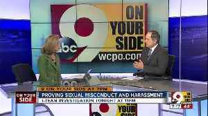 News video: Proving sexual misconduct and harassment