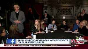 News video: Congressional candidate Brad Ashford holds Q&A with students on gun violence