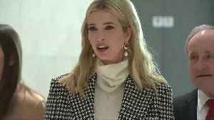 News video: Ivanka Trump arrives in South Korea for Winter Games closing ceremony