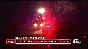 News video: Three people killed in Carroll County plane crash