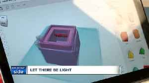 News video: Fourth-graders at Laurel School in Shaker Heights design light box for students in Zimbabwe