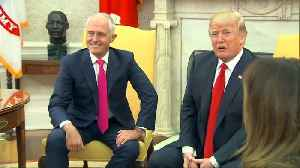 News video: Trump meets Turnbull, mum on Rick Gates