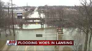 News video: City of Lansing under state of emergency due to flooding