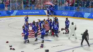 News video: Palos Heights Hockey Player Claims Gold!