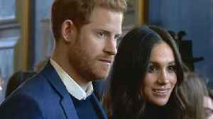 News video: Prince Harry and Meghan Markle Targeted With Security Scare