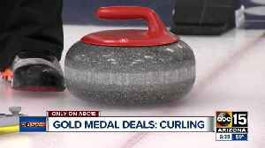 News video: Gold Medal Deals: Curling in the Valley