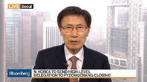 News video: N. Korea to Send Delegation to Pyeongchang Closing