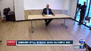 News video: Denver Olympic Committee focuses on 2030 Winter Games, extends deadline