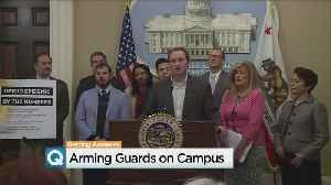News video: State Assemblyman Introduces Bill To Arm School Guards
