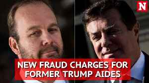 News video: Robert Mueller files 32 new fraud charges against trump ex-aides Paul Manafort and Rick Gates