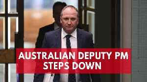 News video: Australian Deputy Prime Minister Resigns After Affair With Staffer