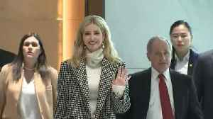 News video: Ivanka Trump arrives in South Korea for Pyeongchang Winter Olympics