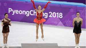 News video: Russia's Alina Zagitova Wins Figure Skating Gold