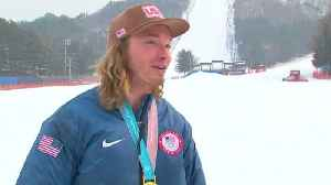 News video: Wise delighted to retain halfpipe ski gold