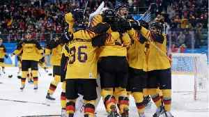 News video: Germany Stuns Canada In Olympic Ice Hockey