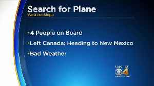 News video: Crews Search For Missing Plane With 4 People On Board