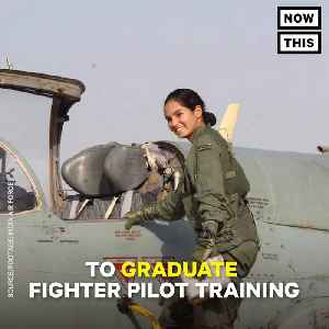 News video: Avani Chaturvedi Became First Indian Woman To Fly Fighter Jet Solo