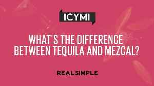 News video: What's the Difference Between Tequila and Mezcal?