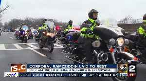 News video: Corporal Ramzziddin laid to rest