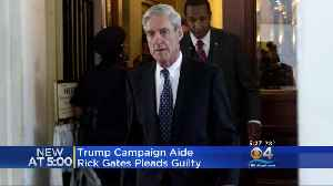 News video: Trump Campaign Aide Rick Gates Pleads Guilty In Mueller Investigation