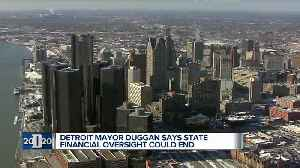 News video: Detroit mayor says the 2019 budget could lead to end of state oversight